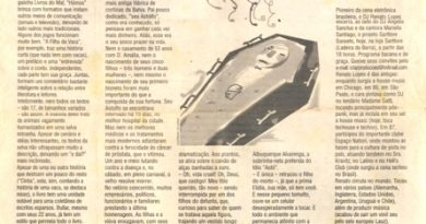 Caderno Dez! - Jornal A Tarde 20/02/2003