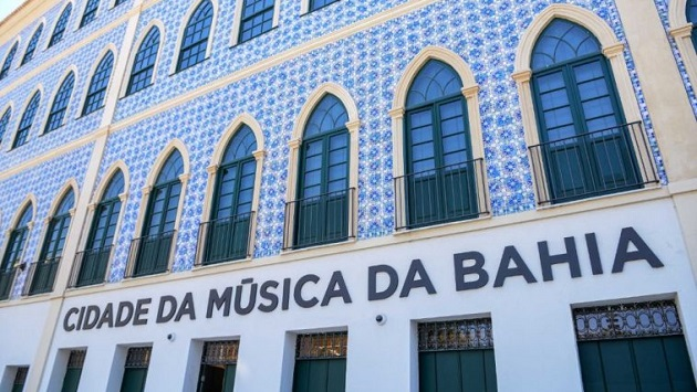 Cidade da Música da Bahia é inaugurado em casarão histórico de Salvador - Foto: Betto Jr. / Secom