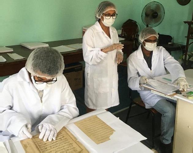 Filarmônica baiana investe na preservação e digitalização do seu acervo musical